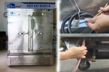 Cách lắp đặt tủ nấu cơm điện