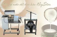Máy ép nước cốt dừa của BigStar giá bao nhiêu