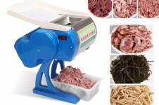 Máy thái thịt mini thiết bị cắt thịt rất chuyên nghiệp và đẹp mắt