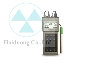 Máy đo pH ORP cầm tay chống nước Hana HI 9818