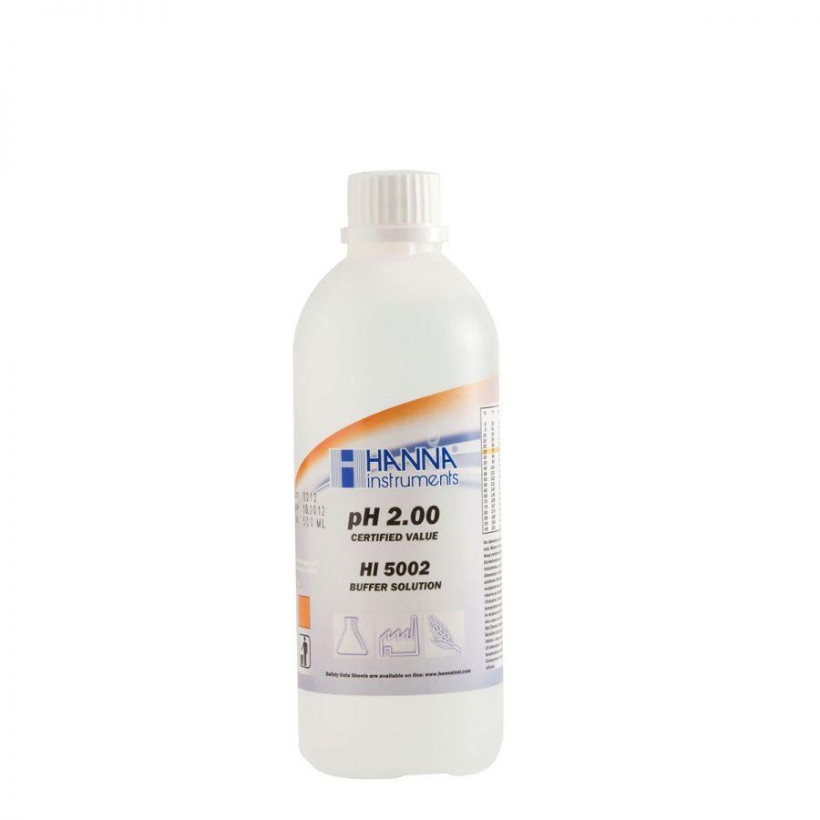 Dung Dịch Hiệu Chuẩn pH 2.00, 500 mL HI5002