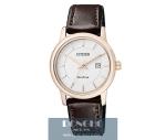 Đồng hồ nữ Citizen EW1563-08A dây da cao cấp