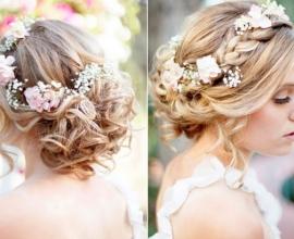 Cách tết tóc đẹp cho cô dâu
