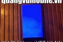 Sửa lỗi Iphone màn hình xanh