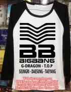 Áo BIGBANG thun dài tay