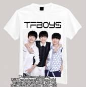 Áo phông TFBOYS trắng