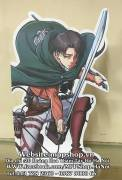 Standee attack on titan