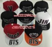 Mũ snapback BTS