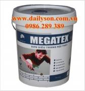 Sơn MEGATEX Siêu trắng dùng trong nhà 18L
