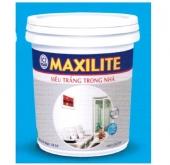 Sơn nước Maxilite siêu trắng trong nhà A901 18L