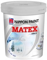 Sơn NIPPON MATEX siêu trắng nội thất 18L