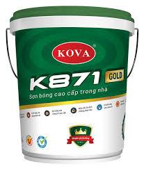 KOVA K871 Sơn bóng cao cấp trong nhà 20kg