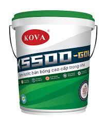 Sơn KOVA K5500 Sơn bán bóng cao cấp trong nhà
