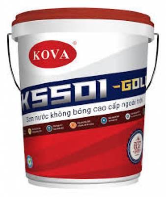 KOVA K5501 Sơn không bóng cao cấp ngoài trời