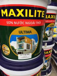 Sơn bóng ngoài trời Maxilite  -Utima - 18 lít
