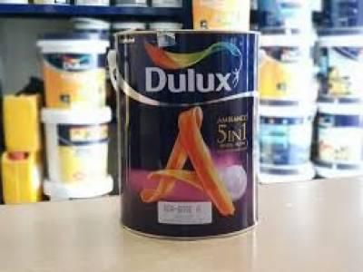 Sơn nội thất bóng mờ Dulux 5 in 1 - 5 lít