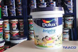 Sơn ngoại thất Bóng Dulux Inspire - 18 lít