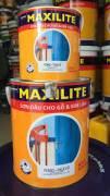 MAXILITE Dầu Bóng dùng cho kim loại và gỗ 18 lít
