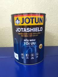 Sơn phủ ngoại thất cao cấp Jotashield - Bền màu tối ưu 5Lit