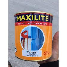 Sơn dầu Maxilite dùng cho kim loại và gỗ 3 lít
