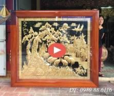 Tranh Mai Khai Phú Quý & Song Tùng Bách Hạc