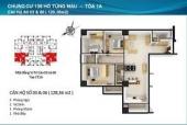 Chung cư 136 Hồ Tùng Mậu - Dự án Tòa 1A Housing Complex