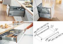 Tư vấn chọn phụ kiện tủ bếp chính xác cho các hộ gia đình