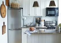 Mẹo giúp bạn có thể trang trí phụ kiện tủ bếp với diện tích 8m2
