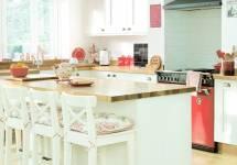 Cách phân chia không gian bếp cho căn nhà nho