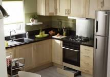 Một số ý tưởng dành cho không gian bếp nhỏ hẹp