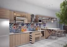 Mẫu phòng bếp đơn giản mà tinh tế 2017