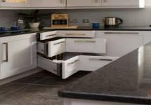 Tủ bếp đa năng có khả năng tiết kiệm không gian