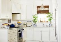 10 Thủ thuật tạo không gian bếp thêm rộng rãi