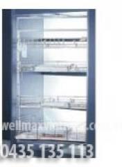 Hệ thống tủ kho để đồ 4 tầng