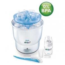 Máy tiệt trùng bình sữa Avent điện