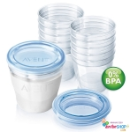 Cốc trữ sữa VIA Avent (10ly-180ml)