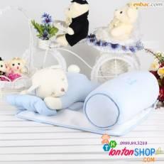 Bộ chặn gấu xuất Hàn  Friend Baby