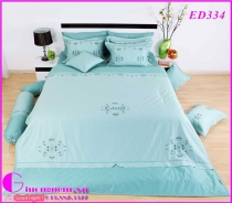 BỘ DRAP EDENA COTTON SOLID ED334 (160 x 200)
