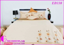 BỘ DRAP EDENA COTTON SOLID ED330 (160 x 200)