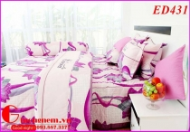 BỘ DRAP EDENA COTTON IN ED431 (160 x 200)