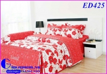 BỘ DRAP EDENA COTTON IN ED425 (160 x 200)