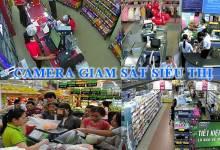 Lắp đặt camera giám sát cho cửa hàng