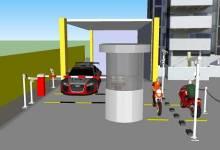 Giải pháp hệ thống bãi giữ xe thông minh