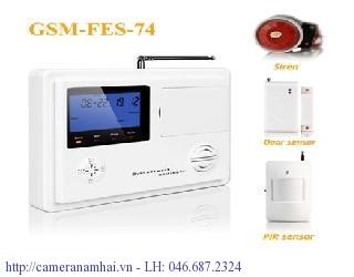 Tủ Báo Động Security SEMART GSM-FES-74