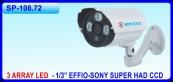 Camera thân hồng ngoại SPYEYE SP-108.72