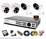 Bộ Camera AHD Samtech siêu nét HD720P