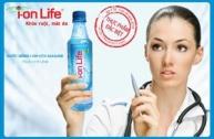 Nước uống cao cấp 5 sao I-on life