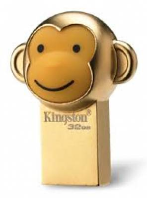 USB 3.1 Kingston Monkey DTCNY16 (Limited Edition) 32GB - Khỉ Vàng