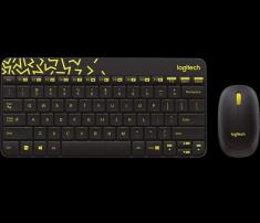 Bộ bàn phím và chuột không dây logitech Mk240 nano