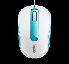 Chuột có dây Rapoo N1190 xanh